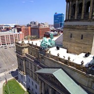 Some drone footage of Detroit's Old Wayne County Building, and a cautionary tale