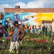 April showers bring all the May flowers at Flower Day at Eastern Market this Sunday