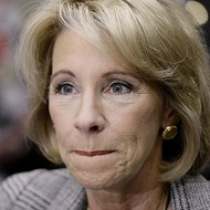 DeVos draws backlash for mulling plan to put federal funds toward school guns