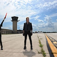 Husband-and-wife duo Adult. celebrate two decades of musical mischief at city airport fest
