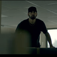 Eminem beats a dead horse with 'Fall' video