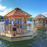 Move over pedal pubs, floating tiki bars are coming to the Detroit River this summer