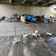 Police wipe out homeless camps in Detroit, seize belongings