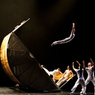 Los Angeles dance team Diavolo put 'Architecture in Motion' at Detroit's Music Hall
