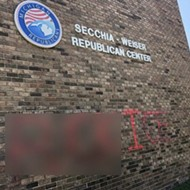 'Fuck ICE': Michigan GOP headquarters targeted with graffiti