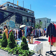 Fleatroit Junkcity takes it outside for summer flea