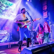 The Disney cover band of your dreams, the Little Mermen, bring whimsy to Ferndale's Magic Bag