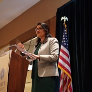 Rashida Tlaib joins calls to investigate whether political donations from Dan Gilbert influenced tax break