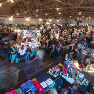 All that glitters is glitter at the weekend-long Detroit Urban Craft Fair which returns to the Masonic Temple
