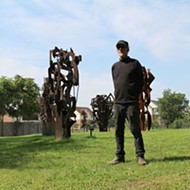 Robert Sestok unveils the enormous City Sculpture Park