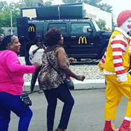 Watch: Ronald McDonald hustles his Nae-Nae at a Detroit McDonald's