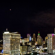 Photo of the day: Super blood moon rises over Detroit