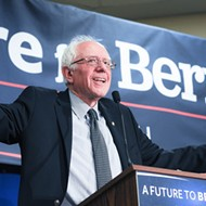 Bernie Sanders says he would legalize marijuana on his first day as president