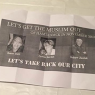 Anti-Muslim political fliers distributed in Hamtramck