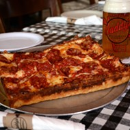 Buddy's is offering free pizza in the Detroit area on Friday
