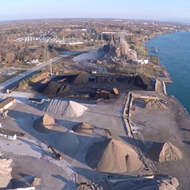 Watch: Drone footage of the Marysville power plant implosion