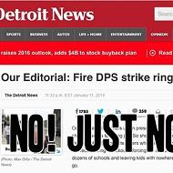 Detroit News editorial board writes idiotic column about Detroit Public Schools sick outs