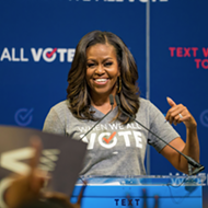 Michelle Obama brings voting participation rally to Detroit after Michigan primary