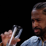 Big Sean finds zen, defends Detroit-style pizza, and talks coronavirus while eating the world's hottest chicken wings on 'Hot Ones'