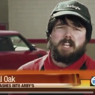 Update: the weird Arby's worker vid has been remixed