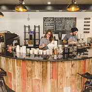 Downtown cafe lets you sip and shop