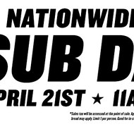 Attention! Dollar subs at Jimmy John's today