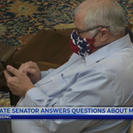 Michigan state senator wore Confederate flag face mask to session over Whitmer's emergency orders