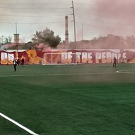 About Friday's inaugural Detroit City FC game in Hamtramck