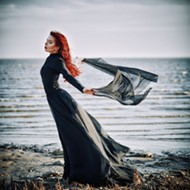 Synthetic Opulence: a goth take on summer fashion