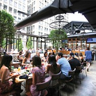 Dining al fresco is the only way to go this summer