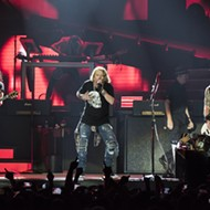 Guns N' Roses open reunion tour in Detroit with a bang