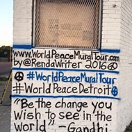 Artist brings World Peace Mural Tour to Detroit