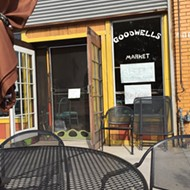 Goodwells Natural Food space shutters, possibly permanently