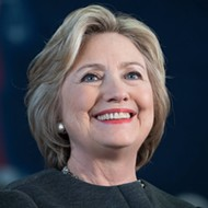 Hillary Clinton is talking jobs, jobs, jobs —because lord knows Detroit needs jobs