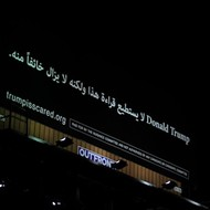 New anti-Trump billboard appears on I-94 — in Arabic
