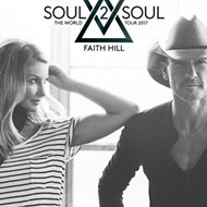 Tim McGraw and Faith Hill to play the Palace next year