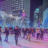 Rejoice — the Campus Martius ice rink opens up on Friday