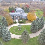 This bizarre Genesee County mansion is for sale and we can't look away
