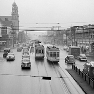 Detroiters in the 1940s preferred streetcars to buses