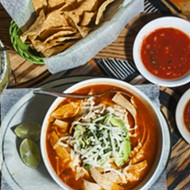 Mi Pueblo shows us how to make its bright, guajillo-spiced tortilla soup