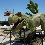 If animatronic dinos are your kink, there's a drive-thru dinosaur safari coming to metro Detroit