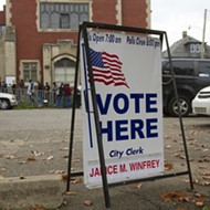 Some polling stations in Detroit opened late because workers didn't show up