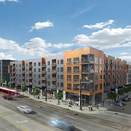 Work begins on 204-unit Woodward West on long-vacant land in Midtown