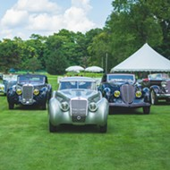 The 42nd Concours d'Elegance celebrates classic cars,  auto design, and speed in Plymouth