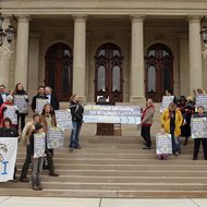 Activists deliver 345,000-signature petition against Nestlé to Capitol
