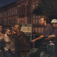 There's still time to check out Mario Moore's moving paintings in Detroit