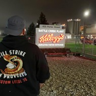 Kellogg's workers in Battle Creek are on strike, demanding better wages