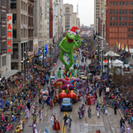 Calvin Johnson and Bishop Edgar Vann are Grand Marshals of this year's Thanksgiving Day Parade in Detroit