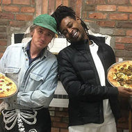 Danny Brown is now a pizza chef