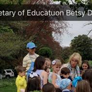 Betsy DeVos is 'Secretary of Educatuon,' according to White House
